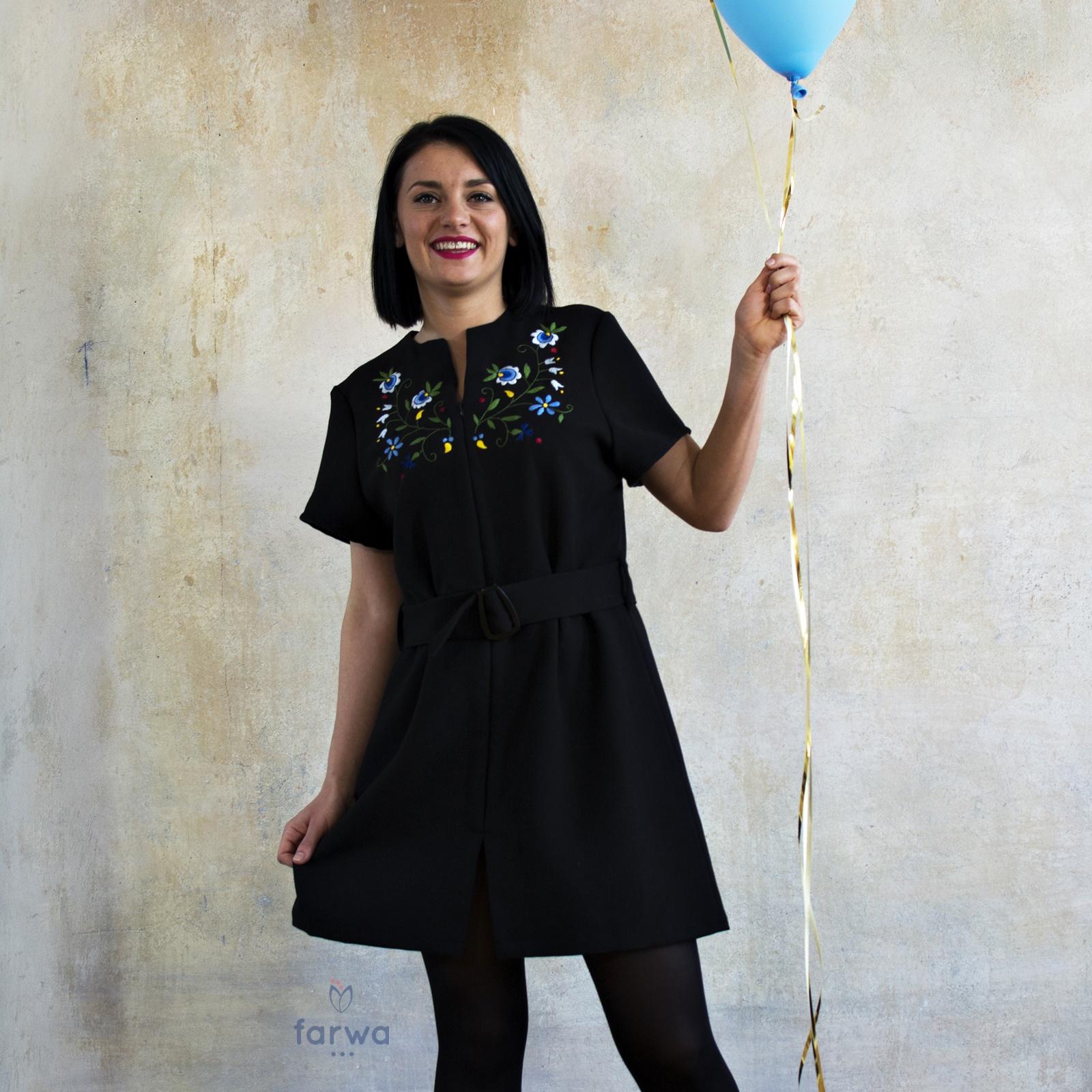 befee6b06f Szmizjerka Kaszubska – Sukienka wiązana w pasie